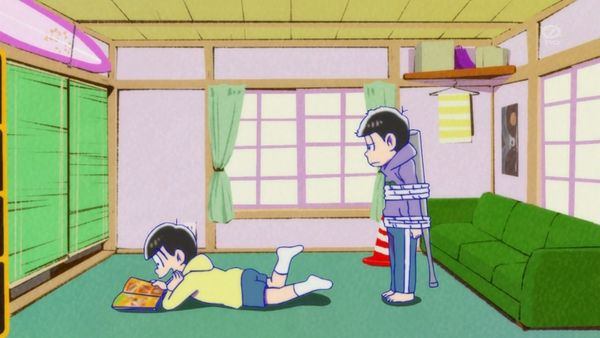 『おそ松さん』第9話(Bパート)「恋する十四松」【アニメ感想】_11017