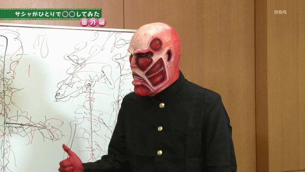 『進撃!巨人中学校』第9話「甘夏!巨人中学校」【アニメ感想】_15761