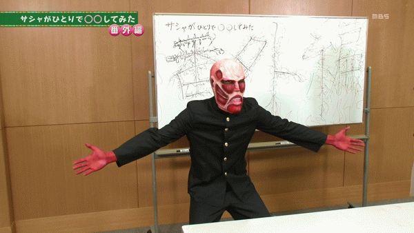 『進撃!巨人中学校』第9話「甘夏!巨人中学校」【アニメ感想】_15762