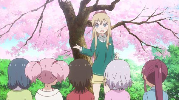 『ゆるゆり さん☆ハイ!』第12話「満開桜に浪漫の嵐」【アニメ感想】_22853