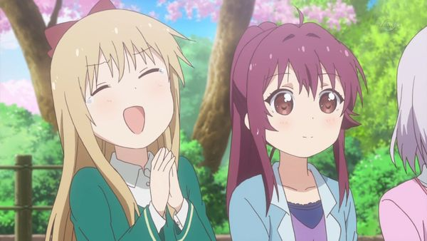 『ゆるゆり さん☆ハイ!』第12話「満開桜に浪漫の嵐」【アニメ感想】_22860