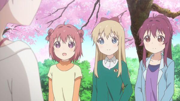『ゆるゆり さん☆ハイ!』第12話「満開桜に浪漫の嵐」【アニメ感想】_22861
