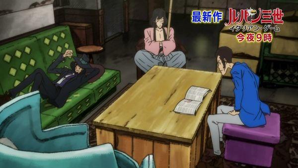 『ルパン三世 2015(新シリーズ)』第14話「モナリザを動かすな」【アニメ感想】_26005