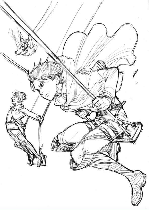 [進撃の巨人]いろいろな漫画家さんが描いた進撃の巨人_2664