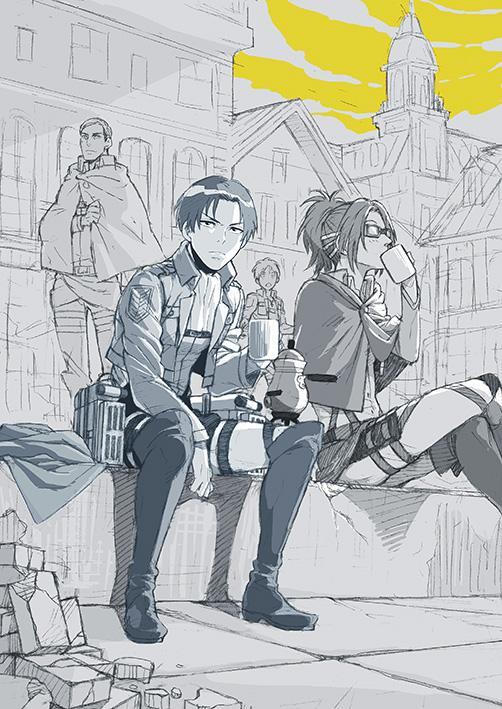 [進撃の巨人]いろいろな漫画家さんが描いた進撃の巨人_2673