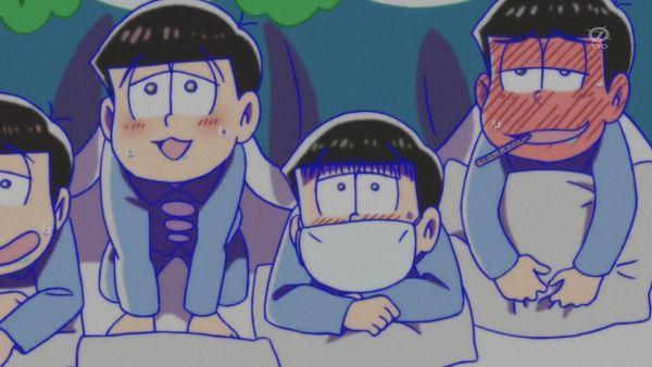 『おそ松さん』第14話Aパート「風邪ひいた」【アニメ感想】_27733