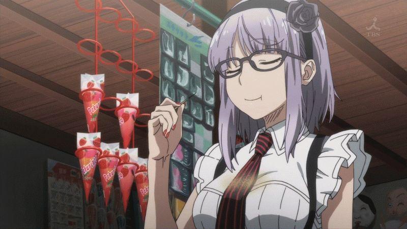 『だがしかし』第2話「きなこ棒と生いきビールと…」【アニメ感想】_28821