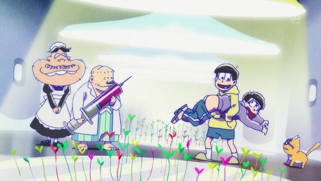 『おそ松さん』第5話(Bパート)「エスパーニャンコ」【. 十四松「一