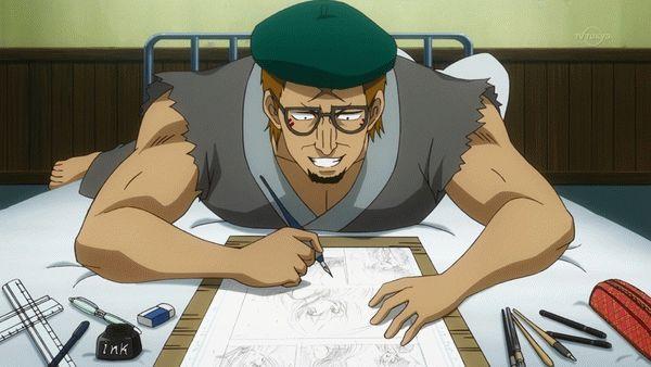第298話「担当編集は一人で足りる」「Gペンは気まぐれ屋さん丸ペンは頑固者」【アニメ感想】_8526