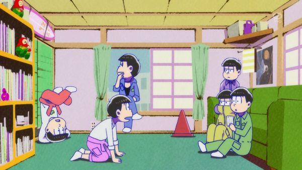『おそ松さん』第6話(Aパート)「おたんじょうび会ダジョー」【アニメ感想】_9384