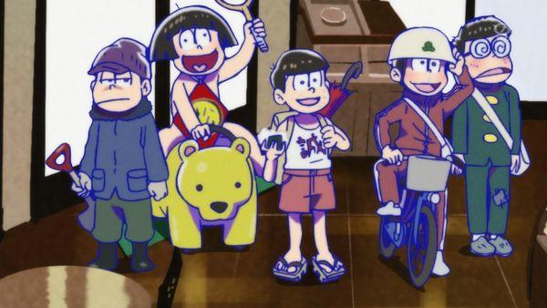 『おそ松さん』第7話(Aパート)「トド松と5人の悪魔」【アニメ感想】_9665